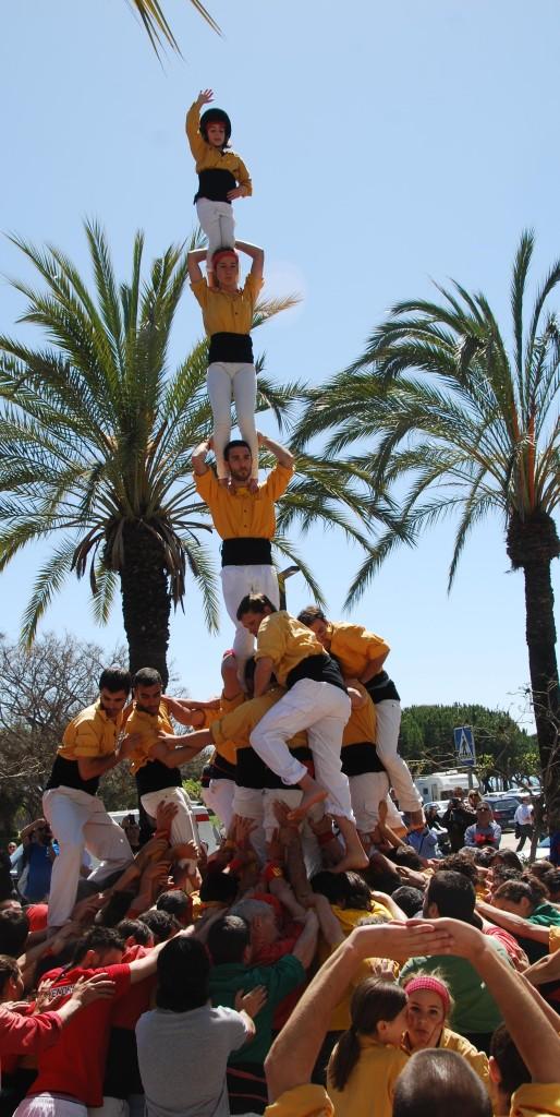 Vilanova previa Sant Jordi Quatre de set amb agulla