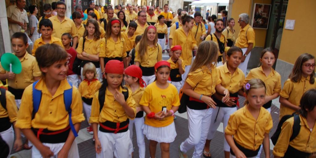 Festa Major-Bordegassos,Joves de Tarragona i Castellers de Vilafranca (6)