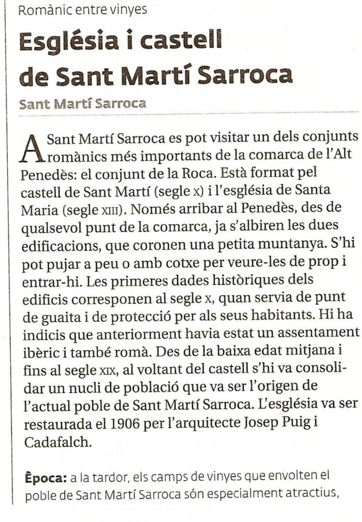 Sant Martí Sarroca