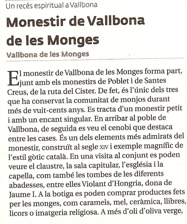 Vallbona de les Monges (1)