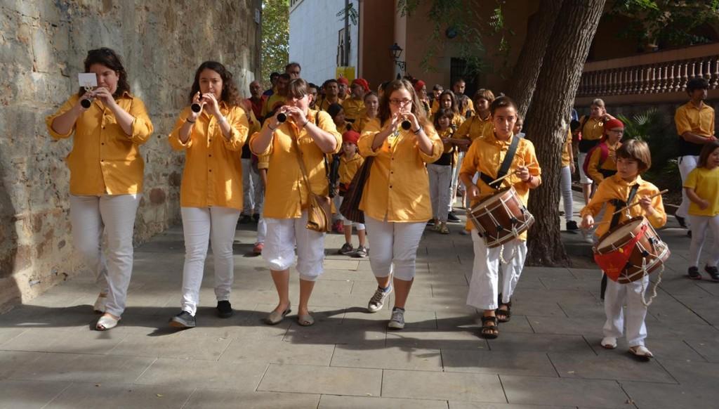 141011 FM de Sarrià amb Castellers de Barcelona  (40)