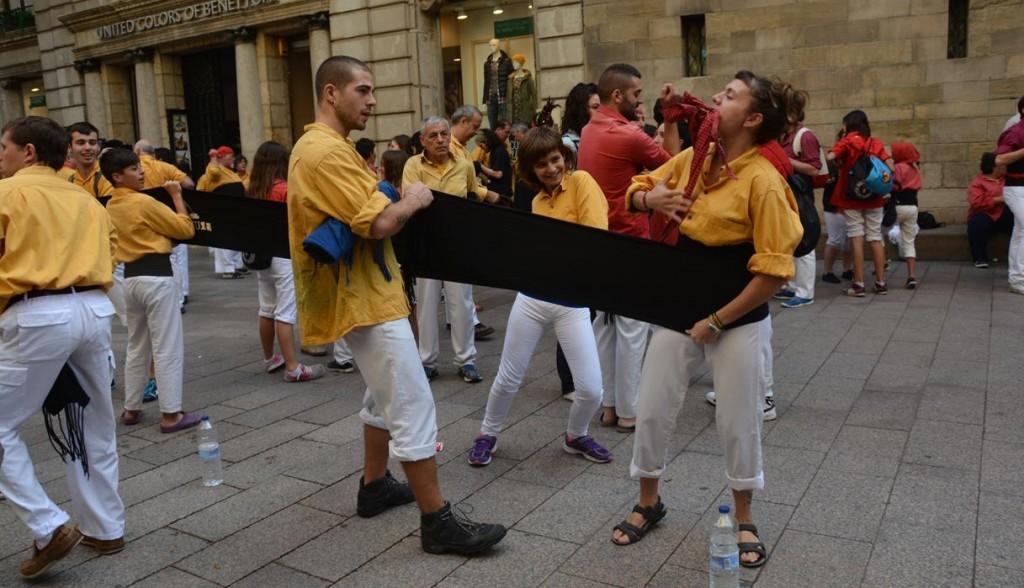 Castellers de Lleida,Bordegassos i Xicots de Vilafranca a la Paeria  (68)