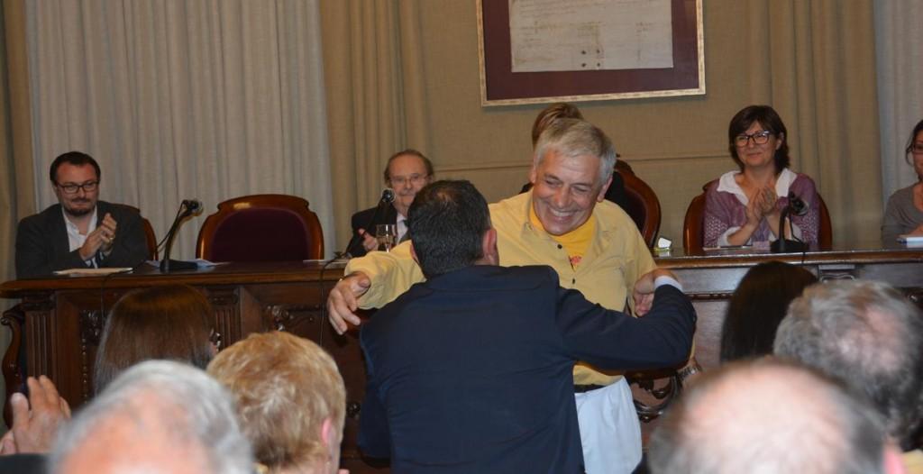 Homenatge i atorgament  Fill Predilecte de VNG al  senyor Albert Salvany i Bertran (42)