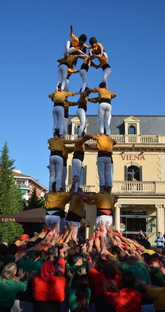 20150509 Castellers de Sant Cugat,Bordegassos i Castellers de RubíDSC_4194
