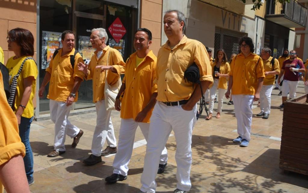 DSC_676220150614 a VNG amb Bordegassos,Xics de Granollers i Castellers de Sant Cugat