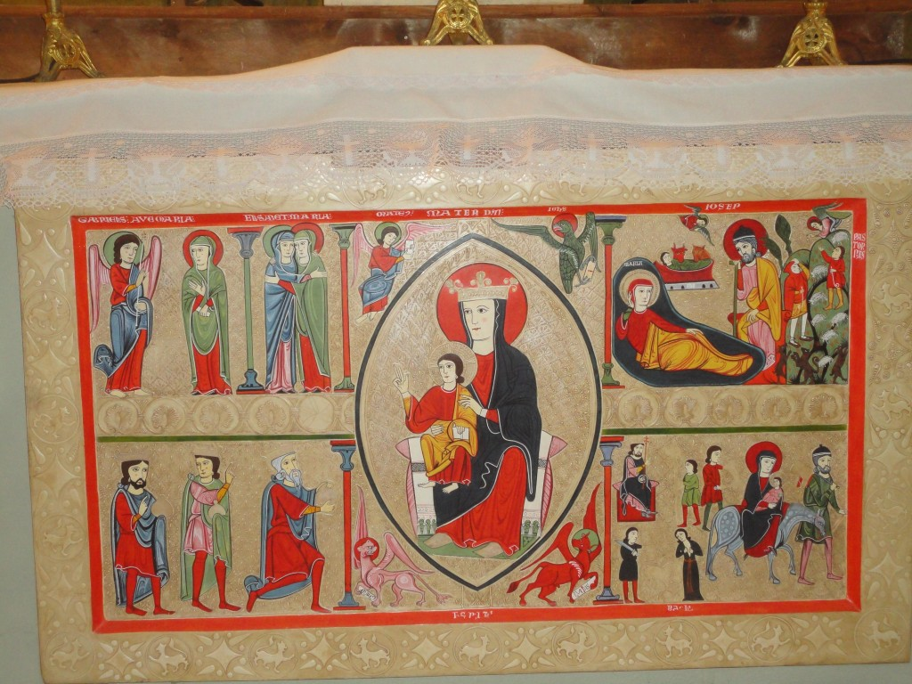 Església Santa Mª de Cardet